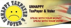 unhappy taxpayer and voter logo1
