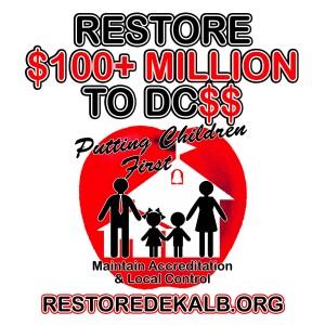 restore $100 million to dcss