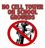 no cell tower on school grounds